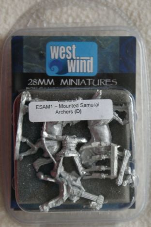 Westwind 28mm ESAM-01 Mounted Samurai Archers
